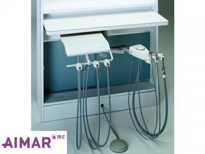 Materiel Dentaire - Unit sur Bras P/Meuble avec ASPI  1-500
