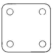 Composants dentaire -  Diaphragme pour valve  REF.10-AD-1004