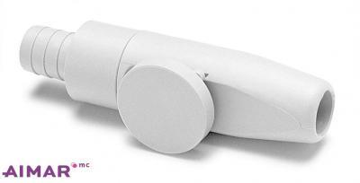 Composants dentaire - Porte canule aspiration GRIS  - REF 3-093