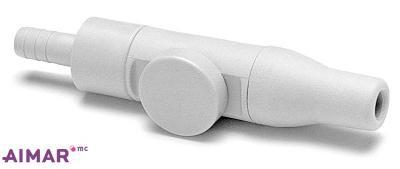 Composants dentaire - Porte canule Pompe a salive GRIS  - REF 3-094