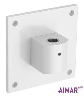 Matériel Dentaire - Fixation Murale  vertical  Blanc  4-050-B