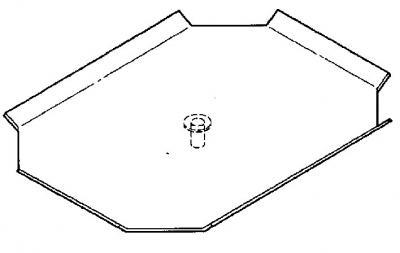 Matériel Dentaire - Tablette pivotante 22X31cm -4-084