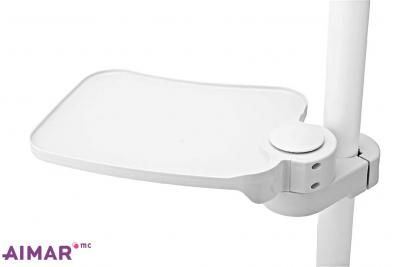 Matériel Dentaire - Tablette pivotante en plastique - 4-089