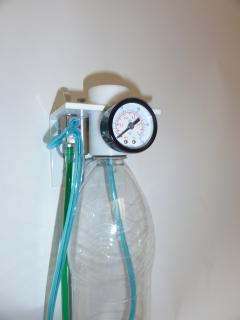 kit d'eau remplissage par le dessus avec bouteille 1.5L souple
