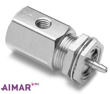 Composants dentaire - Valve a CDE pneumatique 2V - NO  REF 6-017