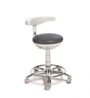 Tabouret Dentaire ASSISTANTE - ASSIST - PRO70040 avec repose pied