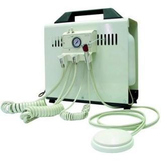 unit dentaire portable avec mini unit + compresseur + kit d'eau autonome.