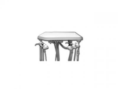 Materiel Dentaire - Unit sous meuble avec ASPI 1-580