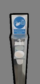 colonne de distribution de gel 450ml-1l